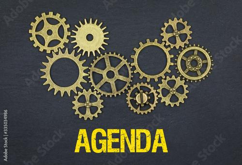 Agenda Wallpaper Mural