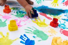 Handprint And Footprint Imprin...