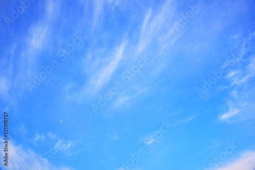 Photo 青空と筋雲 02