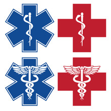 EMT, Nurse, Doctor Caduceus Me...