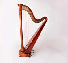 Harp Isolated On White Backgro...