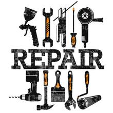 Repair And Service Maintenance...