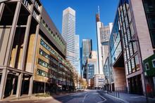 Street In Frankfurt Am Main, ...
