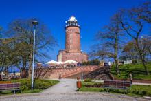 Lighthouse In Kolobrzeg Coasta...