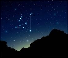 Constellation Aquila In Deep S...