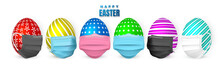 Happy Easter. Color Easter Egg...