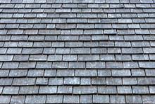 Grey Slate Roof Tiles Texture ...