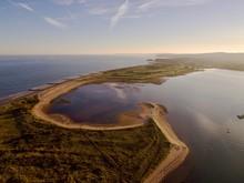Aerial View Of Dawlish Warren ...