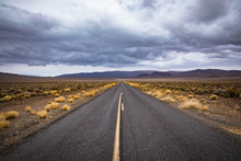 Roads In Death Valley National...