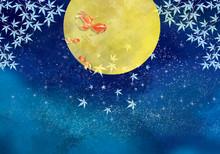 満月:スーパームーン...