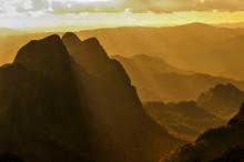 Sunet Mountain At Doi Luang Chiang Dao Chiang Mai , Thailand