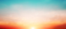 Blur Pastels Gradient Sunset B...
