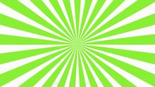 Sunburst, Radiating, Sun Light, Circuses, Stripe Background Design. Royalty High-quality Best Stock Image Of Cartoon Sunburst Pattern Green, White Background. Stripes Sunburst In Retro Pop Art Style