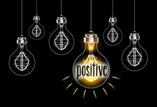 Illustration Of Positive Conce...