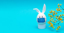 Easter Egg With Eyes,rabbit Ea...