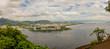 Rio de Janeiro von Zuckerhut aus gesehen im Sommer