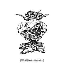 Emblem Culture With Skull - Ha...