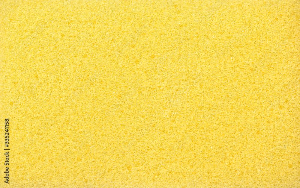 Fototapeta Yellow sponge texture background