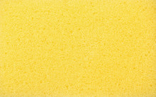 Yellow Sponge Texture Background