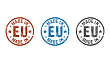 Made In EU, Europe, European U...