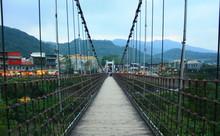 Pont Shifen Village Vallée De Pingxi Taïwan