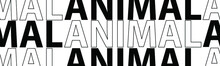 Animal Lettering. The Illustra...