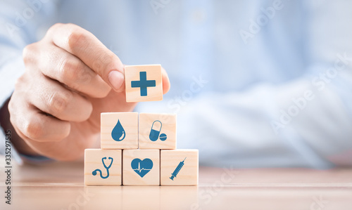 Fototapeta Health insurance - concept. obraz