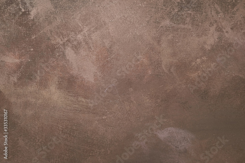 Photo Brown artistic canvas backdrop with stains