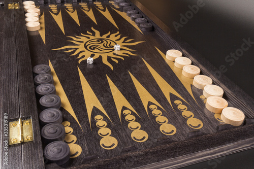Photo Backgammon
