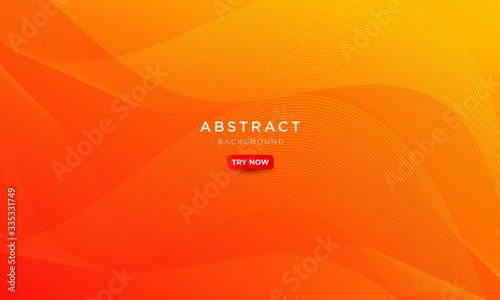 Obraz minimal wave gradient background gradient, abstract creative scratch digital background, modern landing page concept vector. - fototapety do salonu