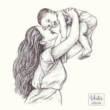 Vector Hand Drawn Illustration...