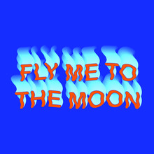 Fly Me To The Moon Colorful Ve...