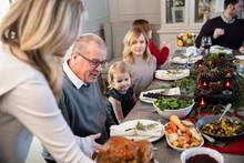 Extended Family Having Christm...
