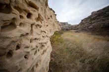 Rugged Rock Wall