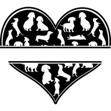 Love Dachshund-heart_2.zip, He...