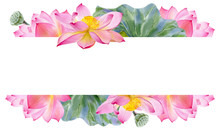 Watercolor Banner Template For...