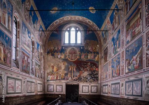 Carta da parati Scrovegni Chapel Cappella degli Scrovegni in Padua, Italy