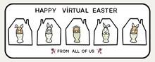 Corona Virus Happy Easter Bun...