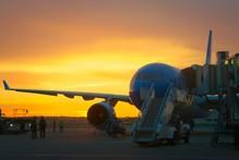 Airport Ground Crew Loading Ca...