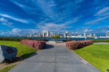 View Of The Park Of The City O...