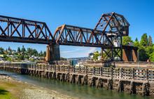Train Bridge Near Seattle's Ba...