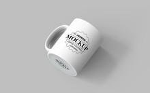 Realistic Mug Mockup, PSD File...