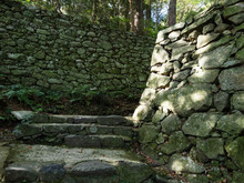 Stone Steps And Fortifications...