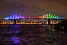 Jacques Cartier Bridge During ...
