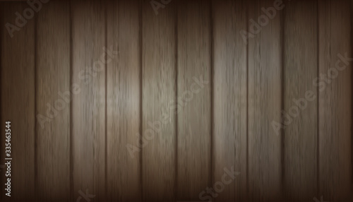Brown old Wooden Texture background. Vector illustration design.
