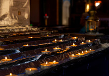 Candles In Catholic Church In ...