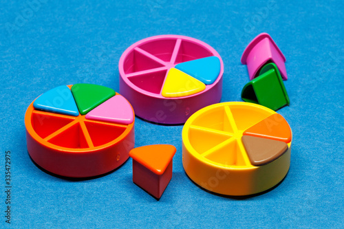 Fotografía Umea, Norrland Sweden - March 25, 2020: game pieces in different colors
