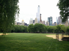 A Sports Field In New York's C...