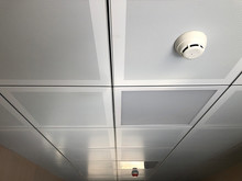 Fire Detector At False Ceiling...