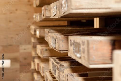 A mining core samples Canvas Print